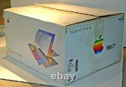 Vintage Apple Macintosh 5120 Portable Near Mint Working with BOX & accessories