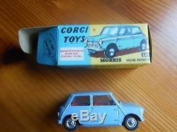 Vintage corgi toys boxed and Others, Job Lot, all near mint condition